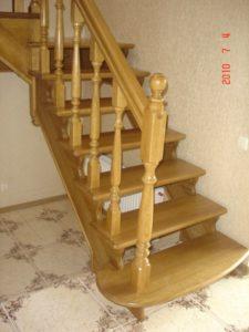 Лестницы из дуба, фото №2