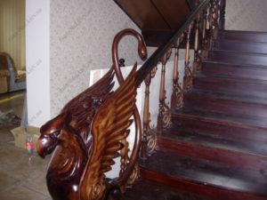 Деревянная лестница г. Херсон №2