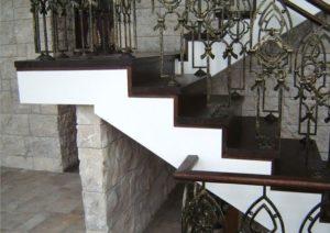 Кованые балясины для лестниц №20