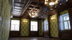 Кессонный потолок фото №3