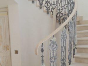 Кованые балясины для лестниц №3