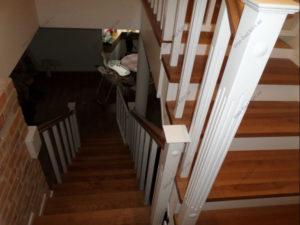 Лестница в стиле прованс фото №6