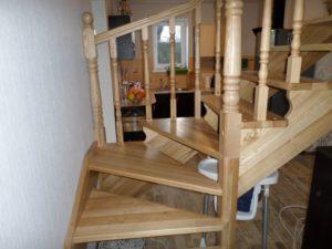 Лестницы для дачи, фото №3