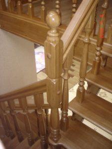Лестницы из дуба, фото №3