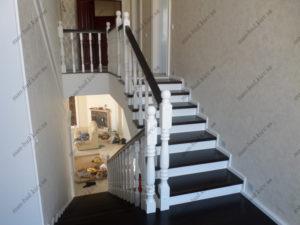 Черно-белая лестница фото №4