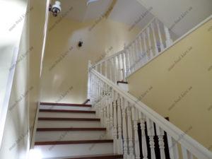 Деревянная лестница г. Днепропетровск №5