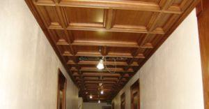 Кессонный потолок фото №4