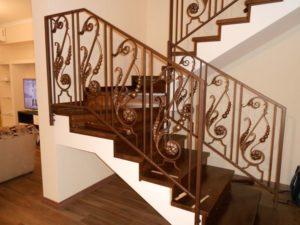 Кованые балясины для лестниц №5