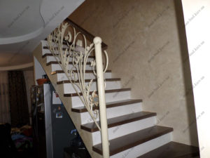 Облицовка лестниц деревом, фото №9