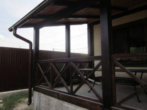 Деревянные ограждения террас фото №4