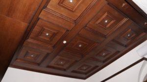 Кессонный потолок фото №5