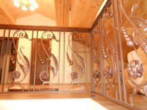 Кованые балясины для лестниц №6