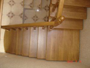 Лестницы из дуба, фото №6