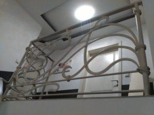 Кованые перила в стиле модерн №5