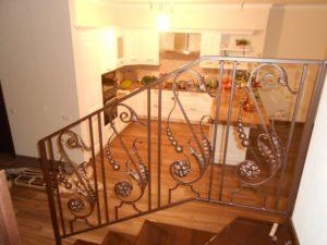 Кованые балясины для лестниц №7
