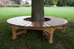 Скамейка вокруг дерева №6