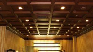 Кессонный потолок фото №7