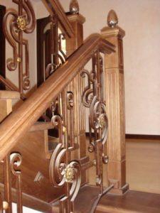 Кованые балясины для лестниц №10