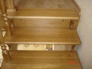 Лестницы из дуба, фото №5