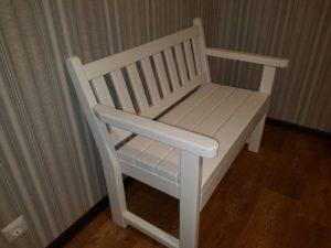 Деревянные скамейки, фото №7