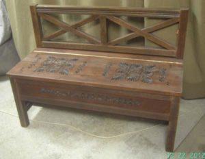 Скамейка в прихожую фото №7