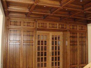 Кессонный потолок фото №8