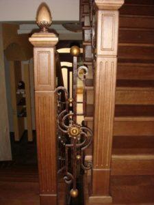 Кованые балясины для лестниц №11