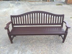 Деревянные скамейки, фото №8