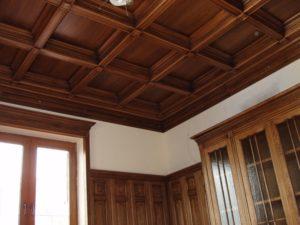 Кессонный потолок фото №9