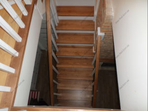 Лестница в стиле прованс фото №11