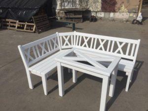 Деревянные скамейки, фото №9