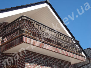 Кованые балконы фото №140