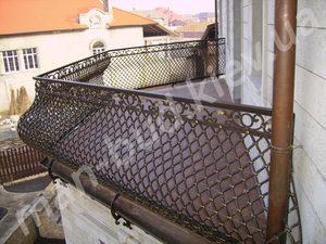 Кованые балконы фото №141