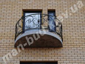Кованые балконы фото №134