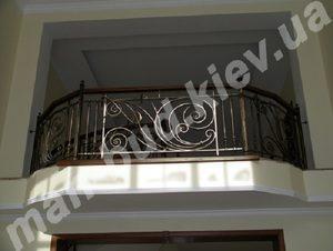 Кованые балконы фото №135