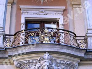 Кованые балконы фото №133