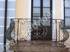 Кованые балконы фото №143