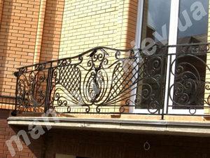 Кованые балконы фото №144