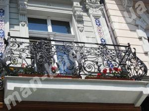 Кованые балконы фото №145