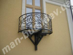 Кованые балконы фото №146