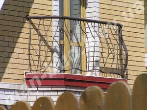 Кованые балконы фото №149