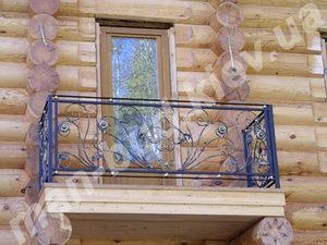 Кованые балконы фото №150