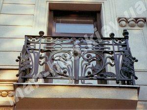 Кованые балконы фото №151