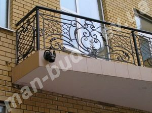 Кованые балконы фото №152
