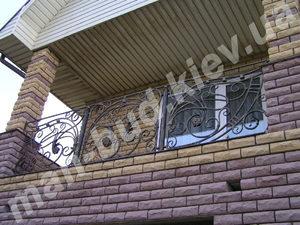 Кованые балконы фото №153