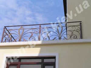 Кованые балконы фото №154
