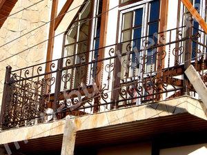 Кованые балконы фото №156