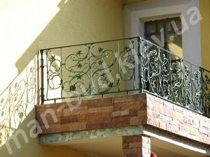 Кованые балконы фото №157