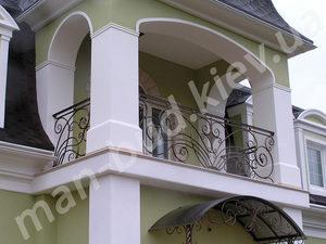 Кованые балконы фото №158