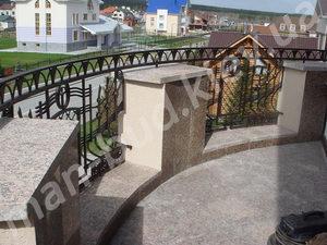 Кованые балконы фото №159